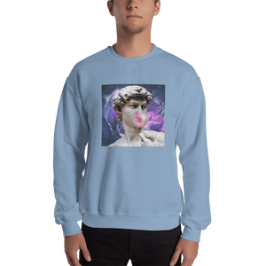 Meme.Shopping Poppin Sweatshirt Light Blue / 2XL