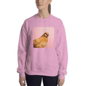 Meme.Shopping Wing-It Sweatshirt Light Pink / 2XL