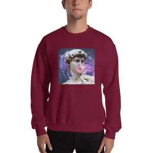 Meme.Shopping Poppin Sweatshirt Maroon / 2XL