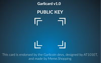 Meme.Shopping Garlicard v1