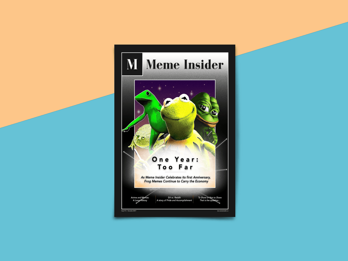 Meme Insider November 2017 - Meme.Shopping