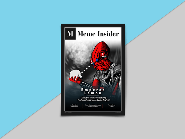 Meme.Shopping Print Meme Insider November Issue