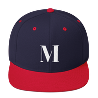 Meme.Shopping Meme Insider Snapback Hat Navy/ Red