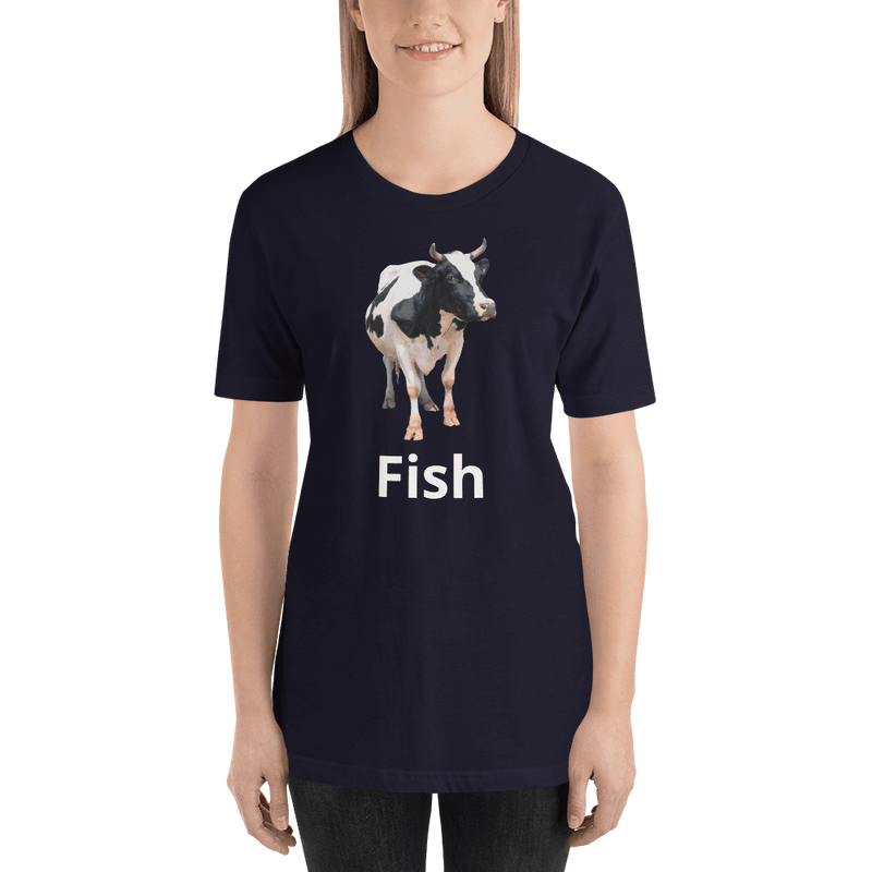 Meme.Shopping Fish? Navy / 2XL