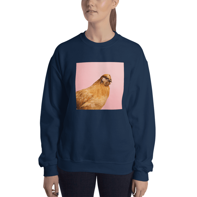 Meme.Shopping Wing-It Sweatshirt Navy / 2XL