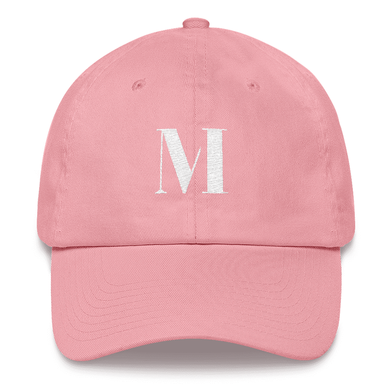 Meme.Shopping Meme Insider Dad Hat Pink