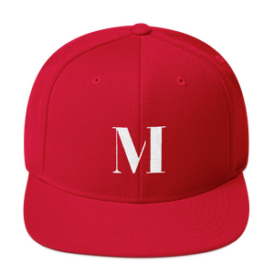 Meme.Shopping Meme Insider Snapback Hat Red