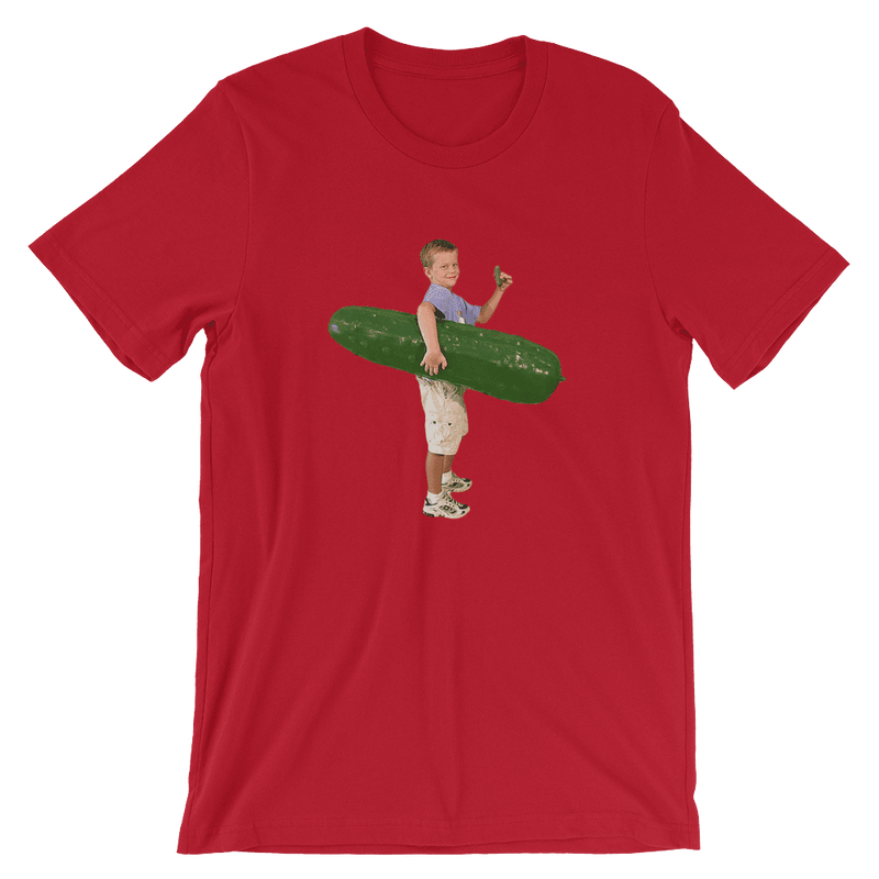 Meme.Shopping Pickle Boy Red / 3XL
