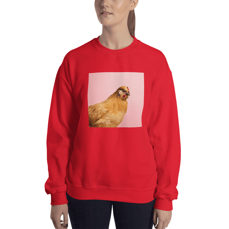 Meme.Shopping Wing-It Sweatshirt Red / 2XL