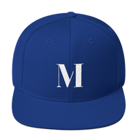 Meme.Shopping Meme Insider Snapback Hat Royal Blue