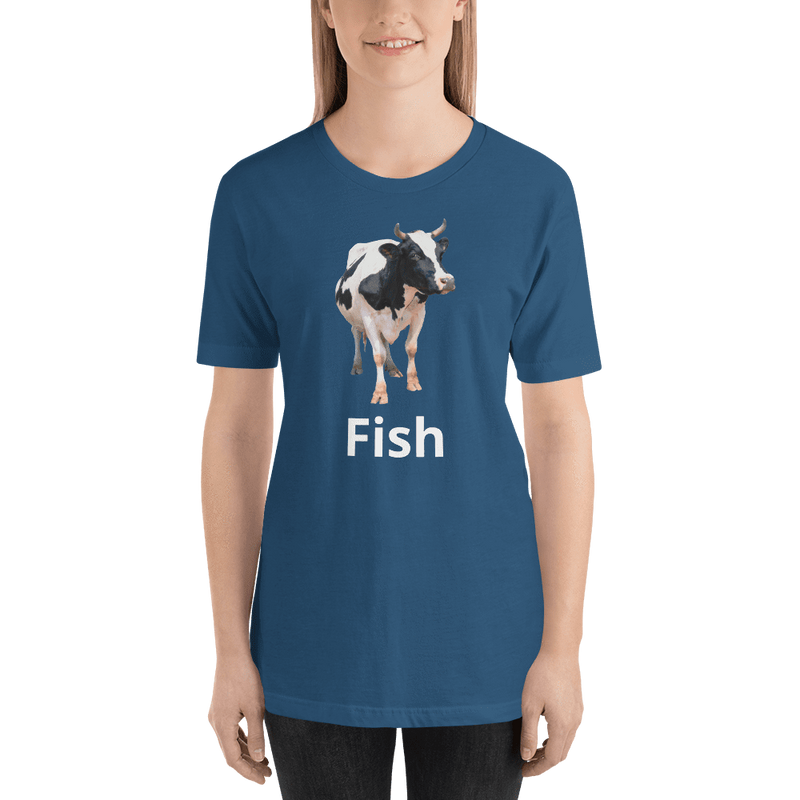 Meme.Shopping Fish? Steel Blue / 2XL