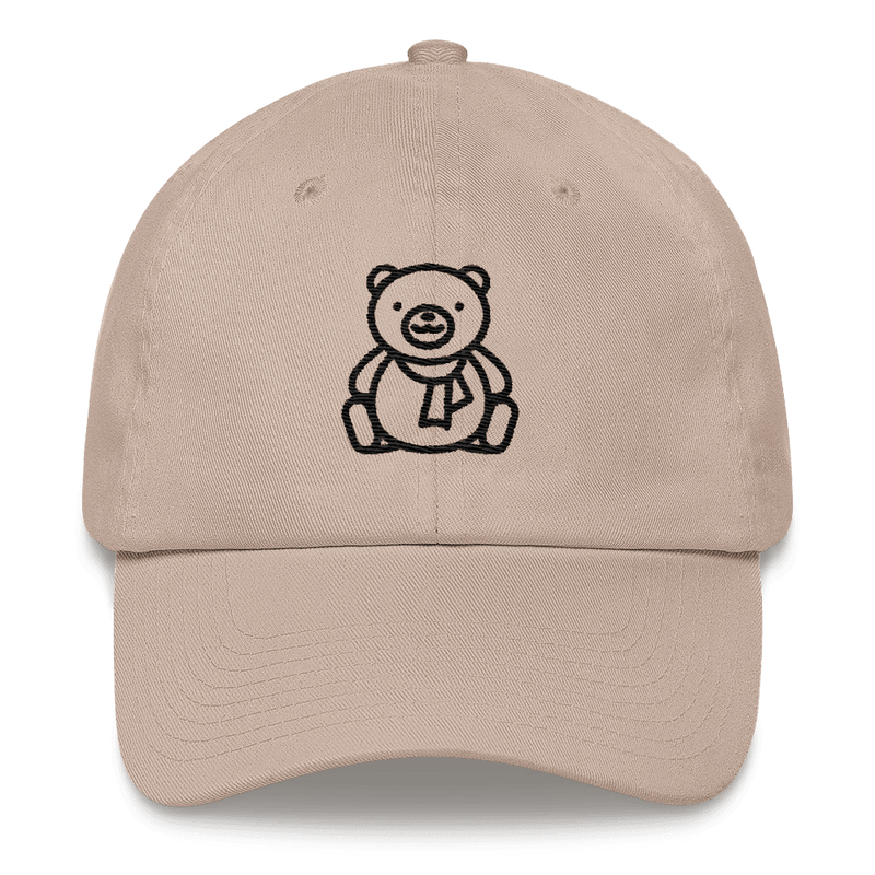 Meme.Shopping Christmas Teddy Dad hat Stone