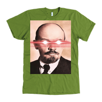 Meme.Shopping Against the State Tee American Apparel Mens / Olive / 3XL T-shirt
