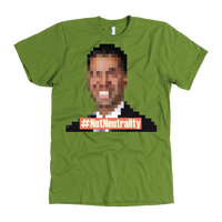 Meme.Shopping Net Neutrality Tee American Apparel Mens / Olive / 3XL T-shirt