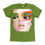 teelaunch T-shirt American Apparel Mens / Olive / S Trump View