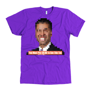 Meme.Shopping Pay to See Tee American Apparel Mens / Purple / 3XL T-shirt