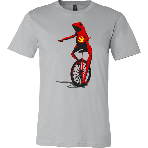 teelaunch T-shirt Canvas Mens Shirt / Silver / S Dat Boi Larger Image Tee