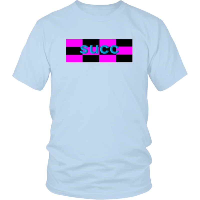 Meme.Shopping succ District Unisex Shirt / Ice Blue / 4XL T-shirt