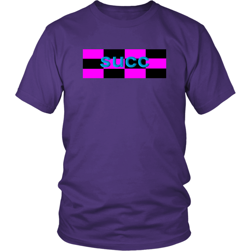 Meme.Shopping succ District Unisex Shirt / Purple / 4XL T-shirt