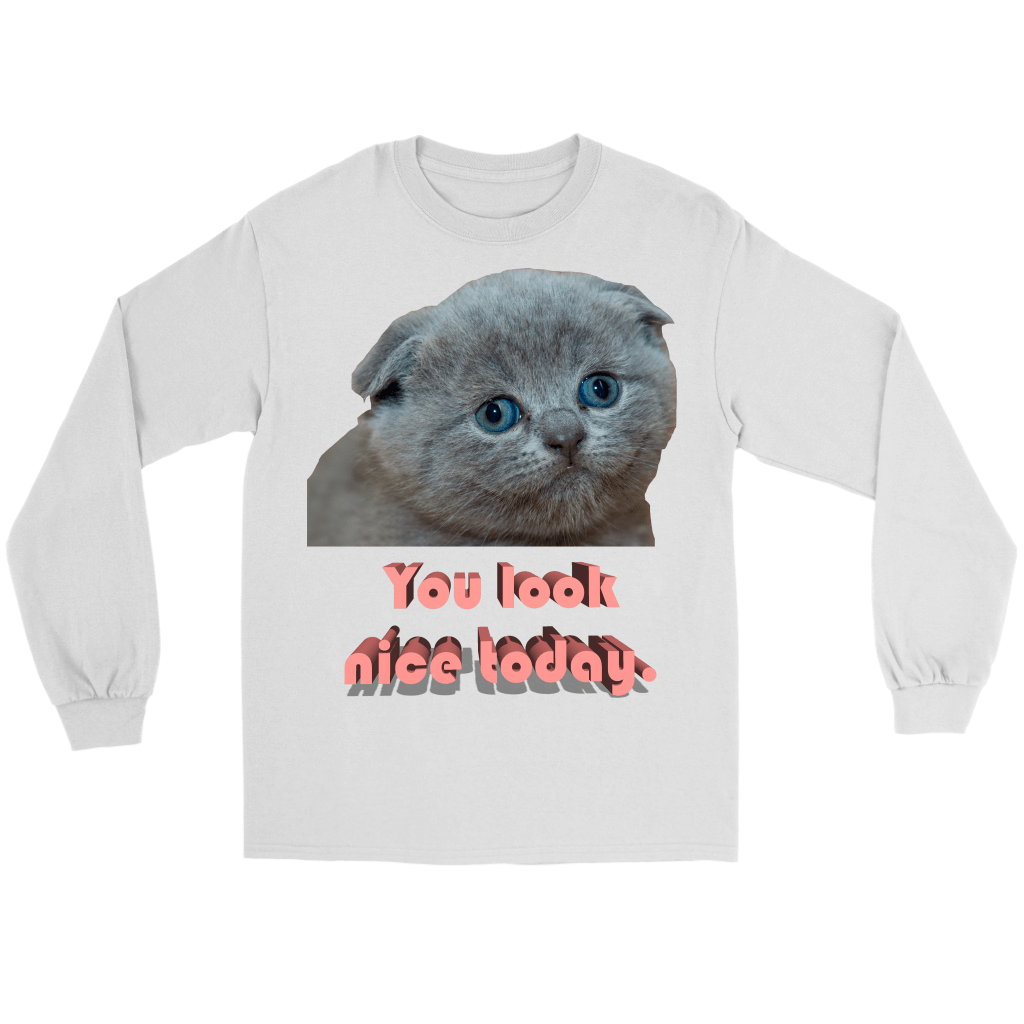 You Look Nice Longsleeve - Meme.Shopping