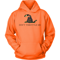 Meme.Shopping Don't Throttle Me Hoodie Unisex Hoodie / Neon Orange / 5XL T-shirt