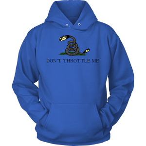 Meme.Shopping Don't Throttle Me Hoodie Unisex Hoodie / Royal Blue / 5XL T-shirt