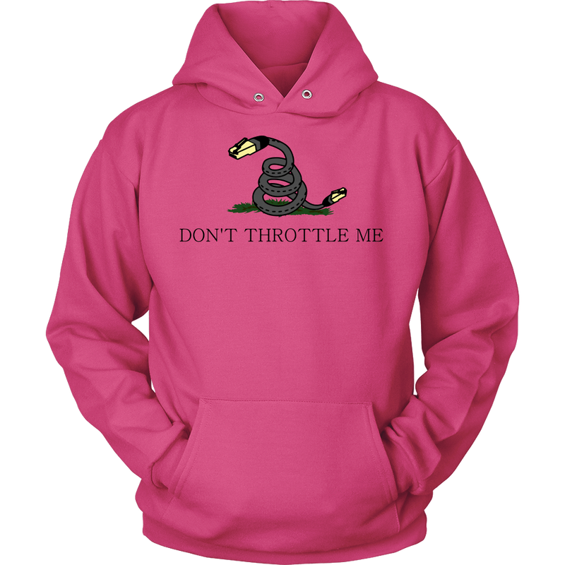 Meme.Shopping Don't Throttle Me Hoodie Unisex Hoodie / Sangria / 5XL T-shirt