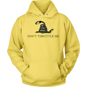 Meme.Shopping Don't Throttle Me Hoodie Unisex Hoodie / Yellow / 5XL T-shirt