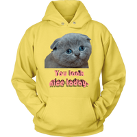 Meme.Shopping You Look Nice Hoodie Unisex Hoodie / Yellow / 5XL T-shirt