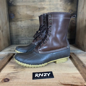 "10"" Bean Boot Shearling Lined Men's 10 LLB031"