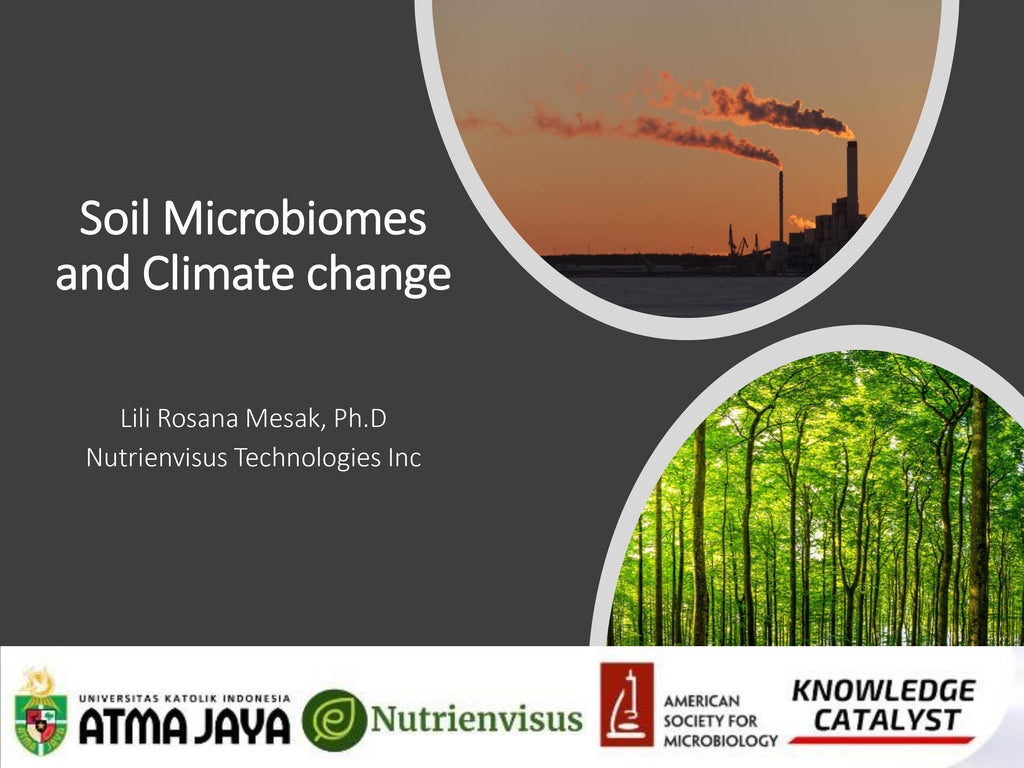 The Soil Microbiomes and Climate Change