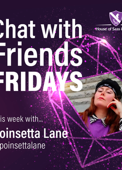 Chat with Friends Friday -- Poinsetta