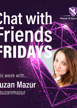 Chat with Friends Friday -- Suzan Mazur