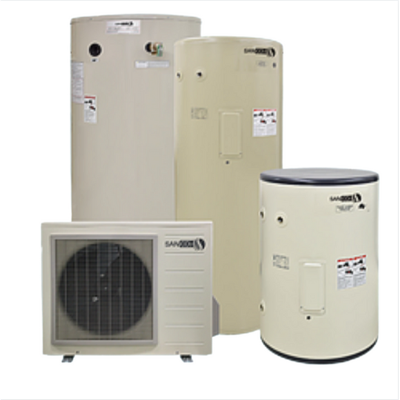 83-Gal SAN-C02 Heat Pump Water Heater System