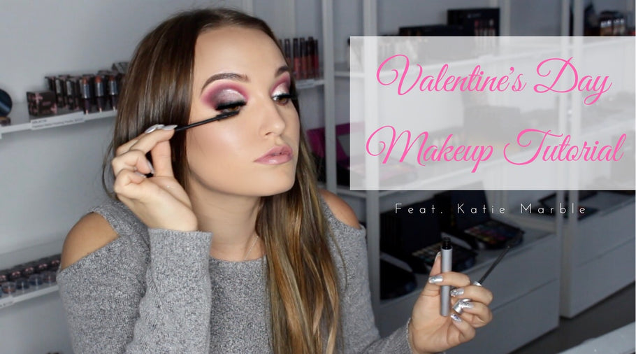 Valentines Day Makeup Tutorial - MUA Katie Marble