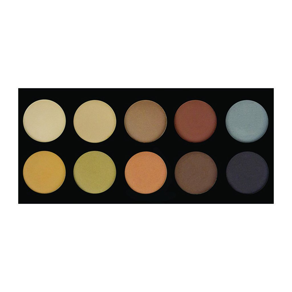 Crown 10 Color Brow Pallete