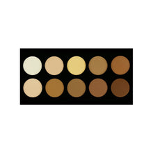 Crown 10 Color Powder Contour Pallete