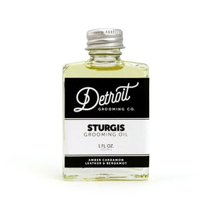 Detroit Grooming Co. Beard Oil - Sturgis - 1 oz. Bottle