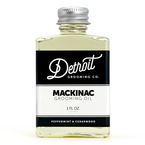 Detroit Grooming Co. Beard Oil - The Mackinac - 1 oz. Bottle
