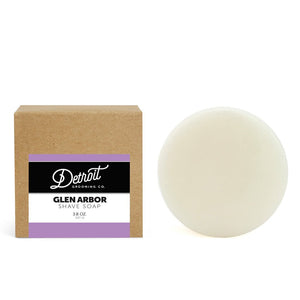 Detroit Grooming Co. Glen Arbor - Lavender With Shea Butter & Soy Soothing Shave Soap