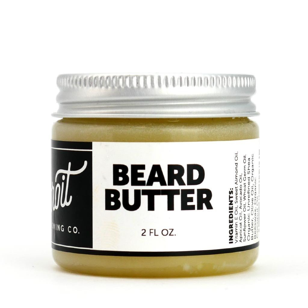 Detroit Grooming Co. Original Beard Butter - 2 oz. Beard Balm