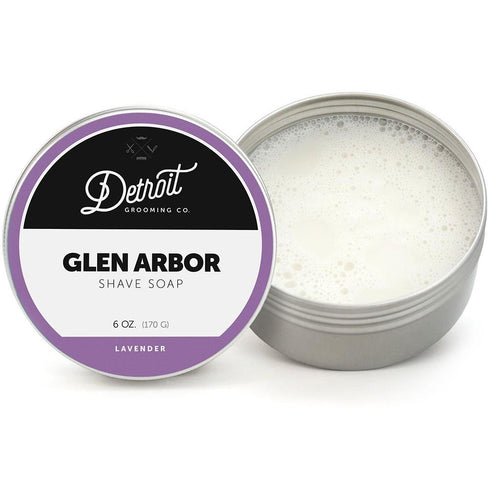 Detroit Grooming Co. Shaving Soap - Glen Arbor - 6 oz. in Tin