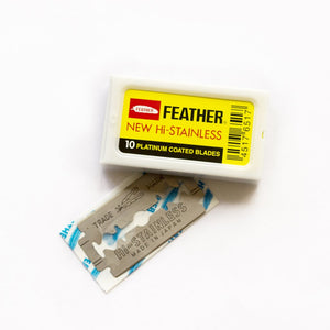 Feather Double Edge Safety Blades
