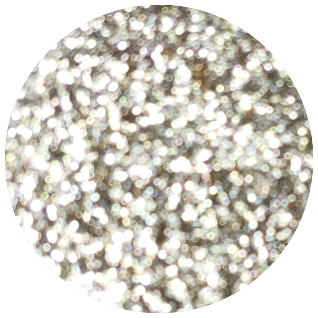 Glitter Injections Pressed Glitter - White Gold