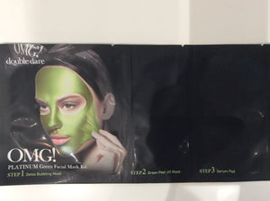 Green Facial Mask Kit