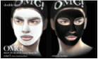 Men's Black Facial Mask Kit