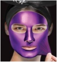 Purple Facial Mask Kit