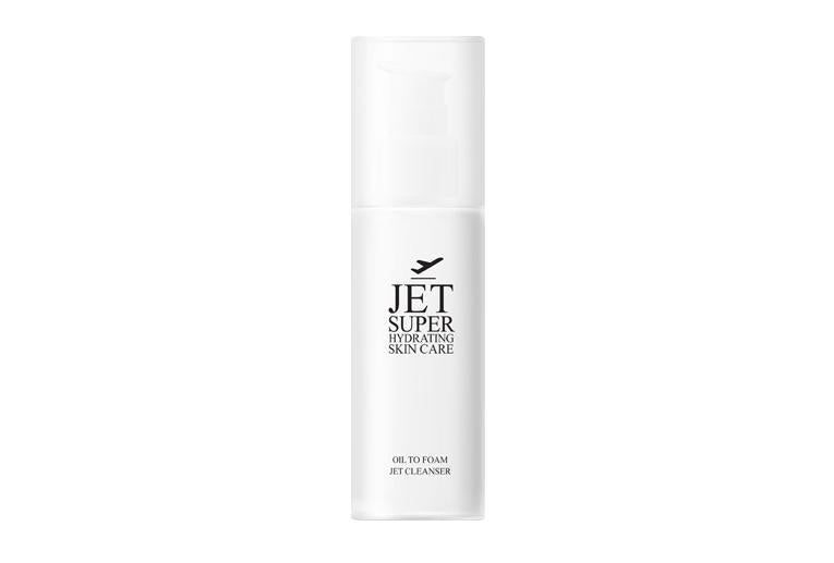 Jet Super Hydrating Skin Care: Oil to foam cleanser