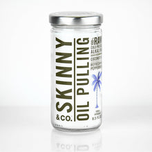 Skinny Peppermint Pulling Coconut Oil