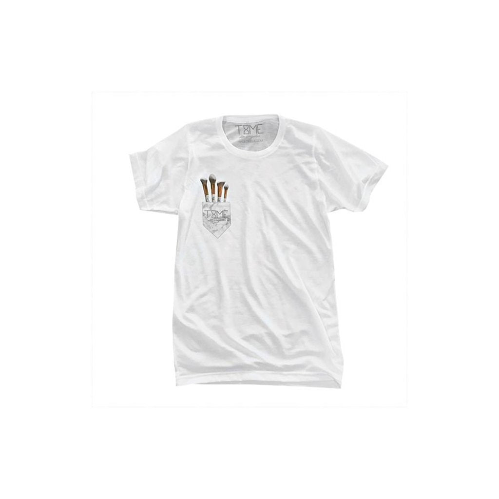 Time Los Angeles Faux Pocket Tee